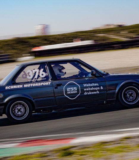 Schriek motorsport tijdens de paasraces op circuit zandvoort 2019