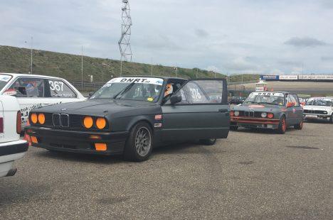 Delano Schriek En Johan Jansen Op Circuit Zandvoort