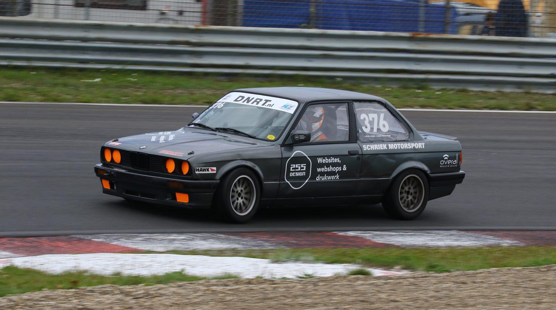 Actiefoto Van Delano Schriek In De Bmw E30 Cup