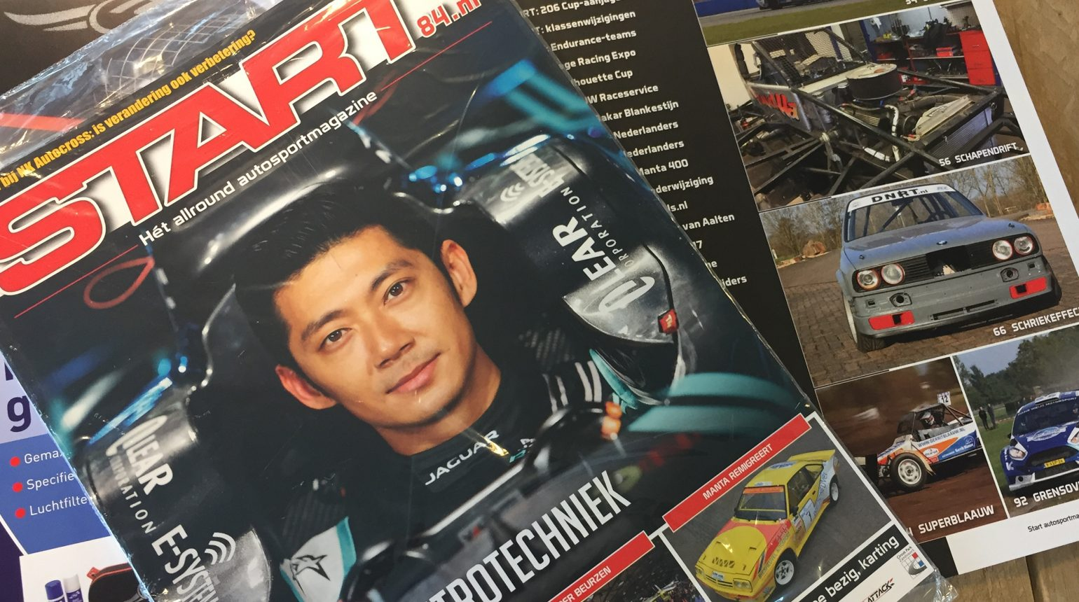 Cover Schriek Motorsport In Start Autosportmagazine