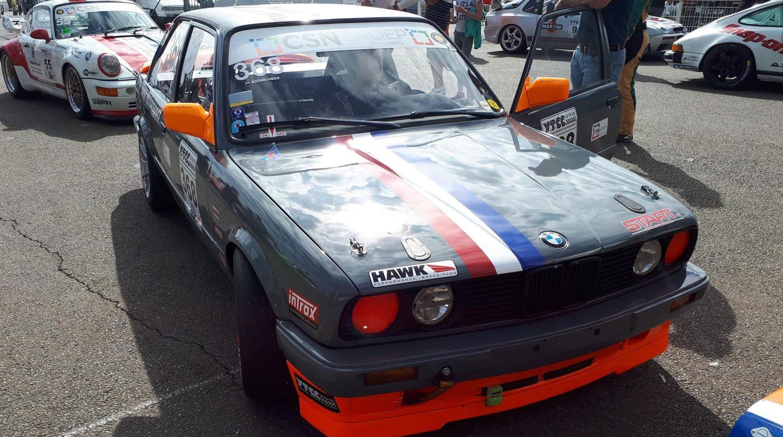 Bjorn Hees In De Door Schriek Motorsport Gebouwde Bmw E30