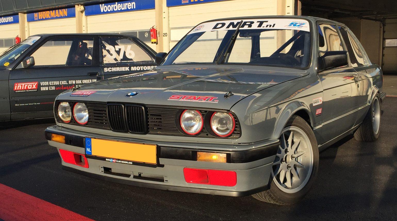 De Door Schriek Motorsport Gebouwde E30 Op Zandvoort