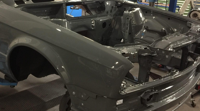 Motorruimte Van De Bmw E30 Cup Raceauto